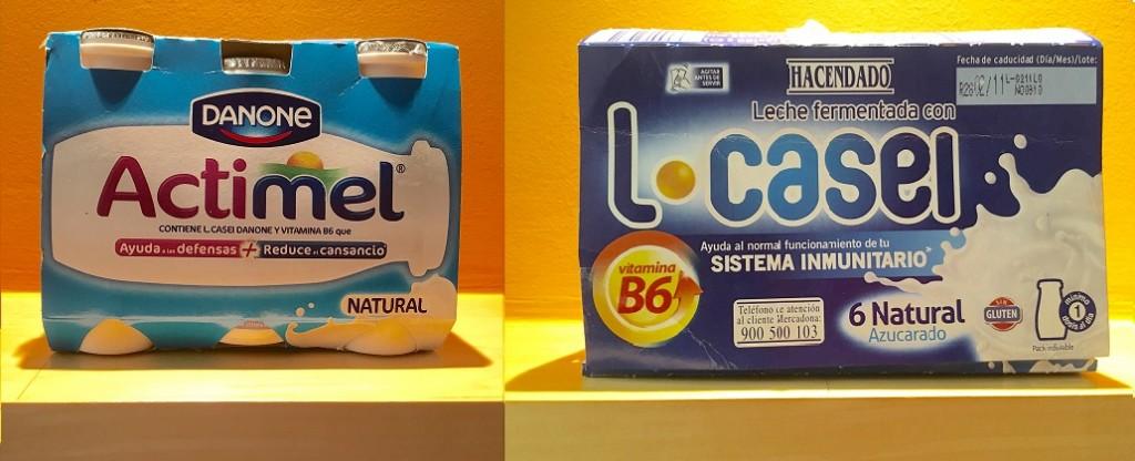 Productos con L. Casei