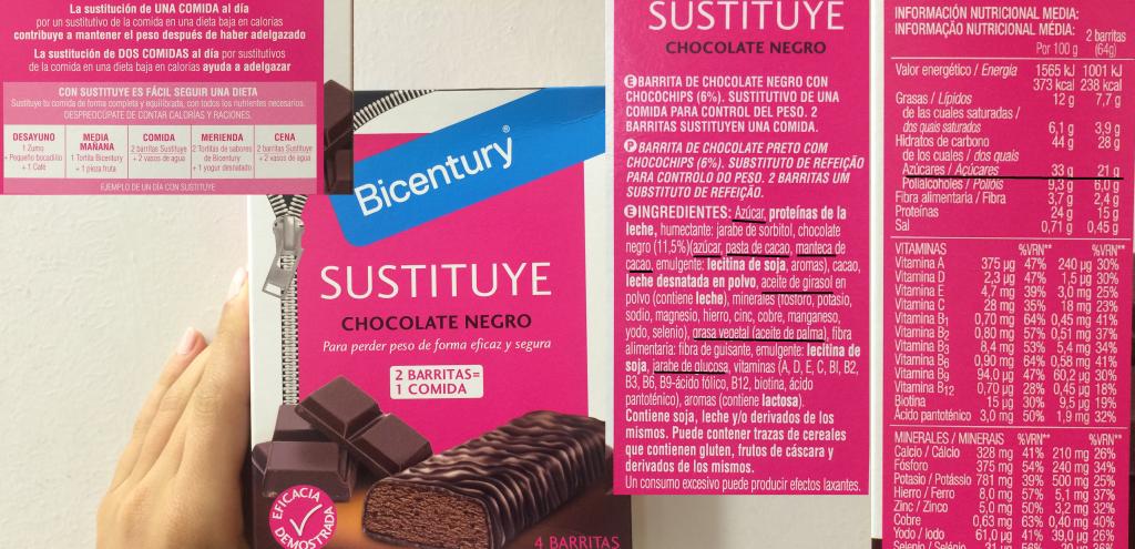 SUSTITUYE Bicentury