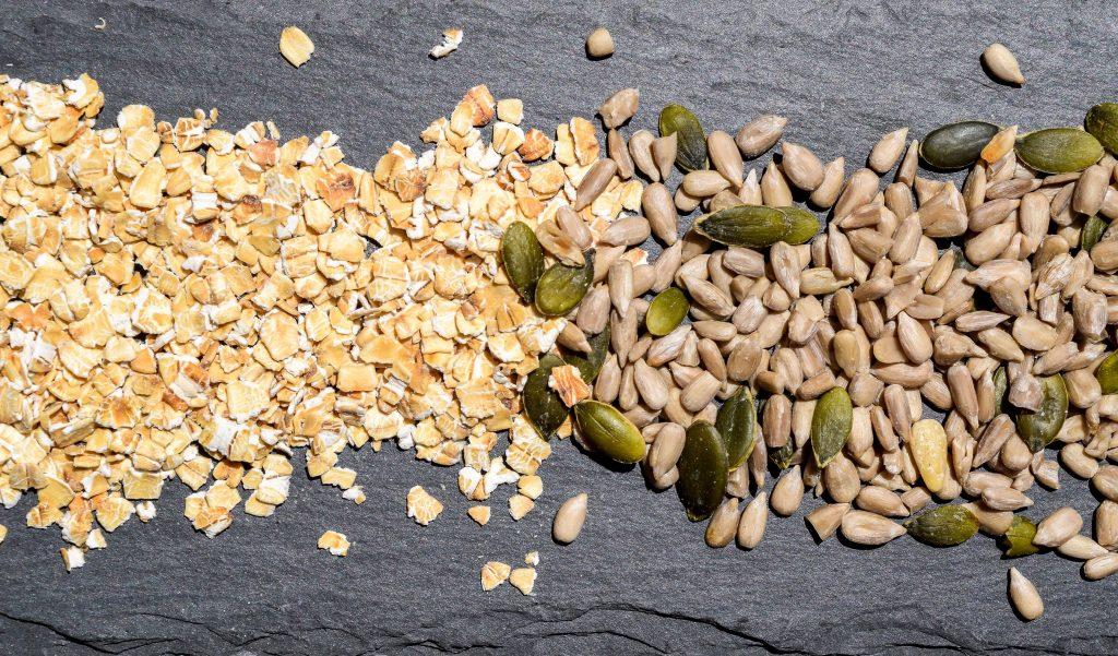 Avena y semillas